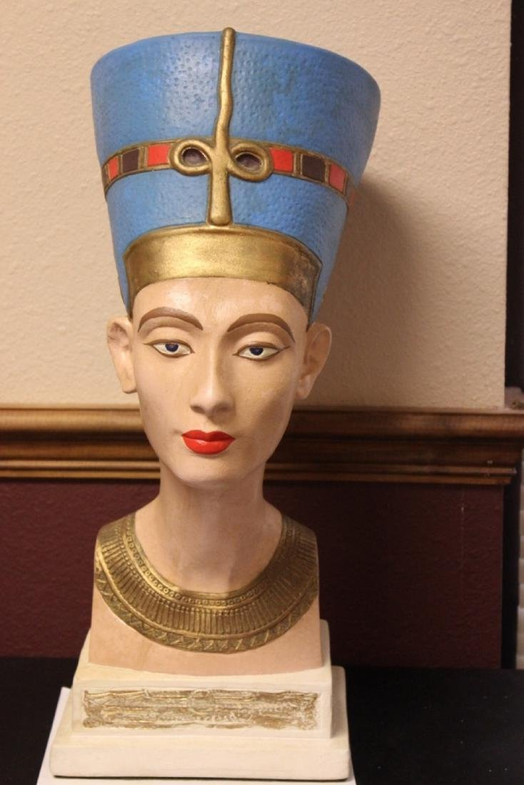 An Egyptian Statue or Bust