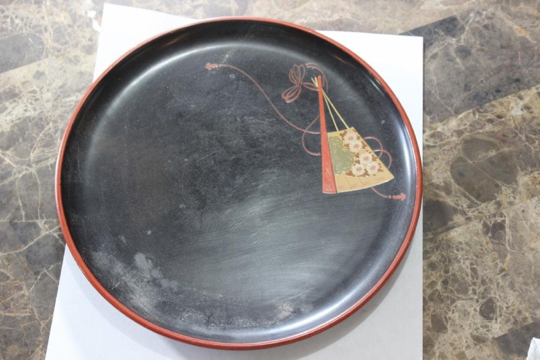 A Vintage Japanese Lacquer Tray/Plate