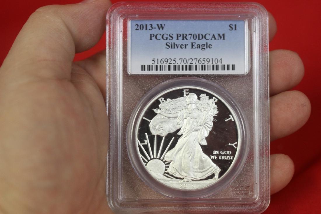 A Graded 2013 Silver Eagle
