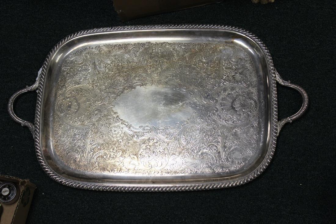 A Silverplate Tray