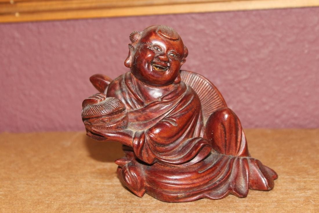 A Chinese Wooden Child