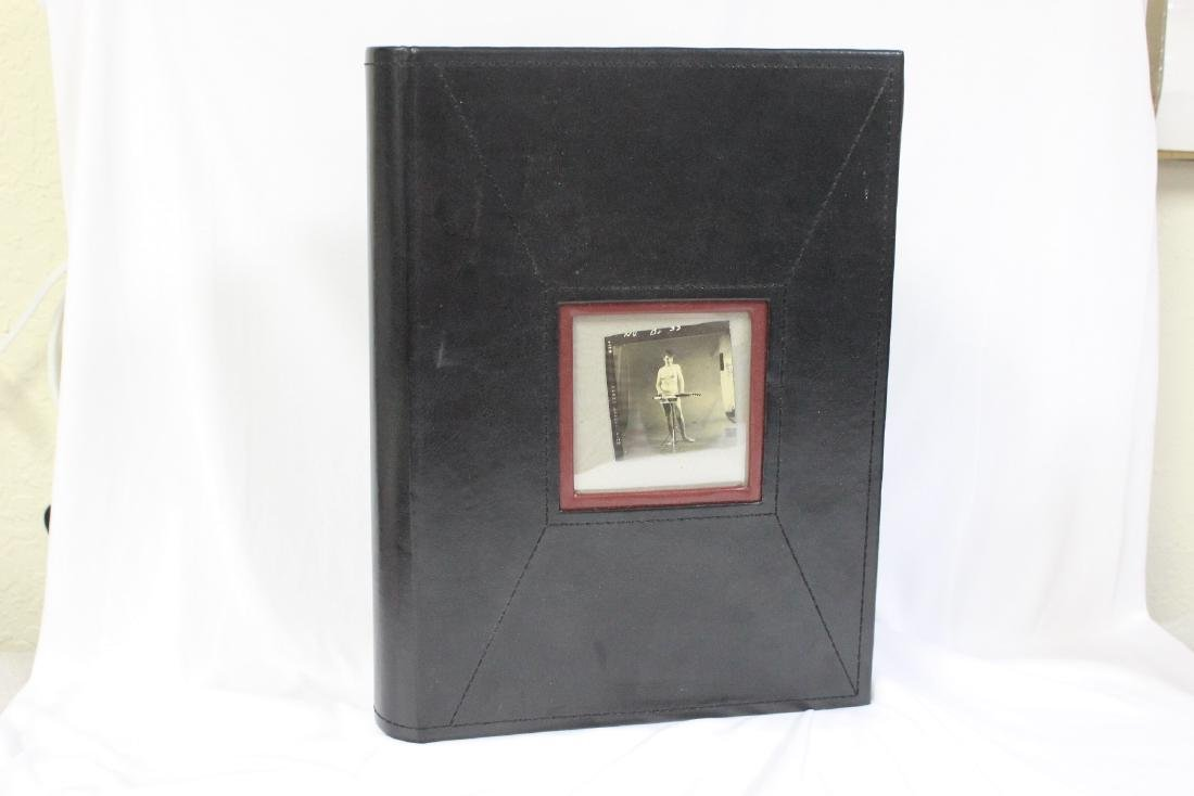 A Vintage Nude Black and White Photo Album