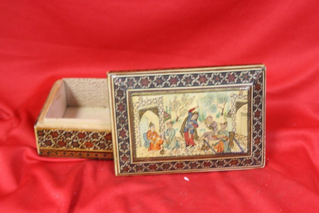 Oriental Wooden Box