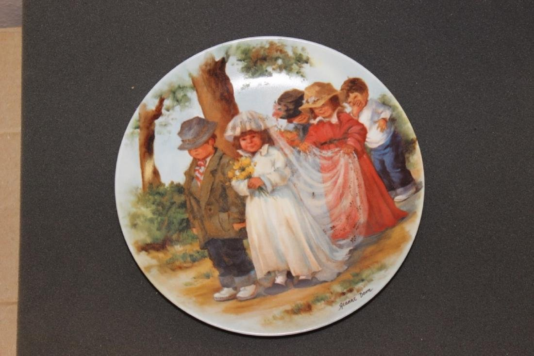 "Collector's Plate ""Here Comes The Bride"" by Jeanne"