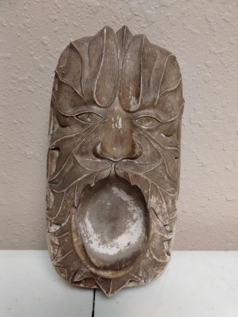 An Antique / Vintage Carved Head - Possibly an Ashtray