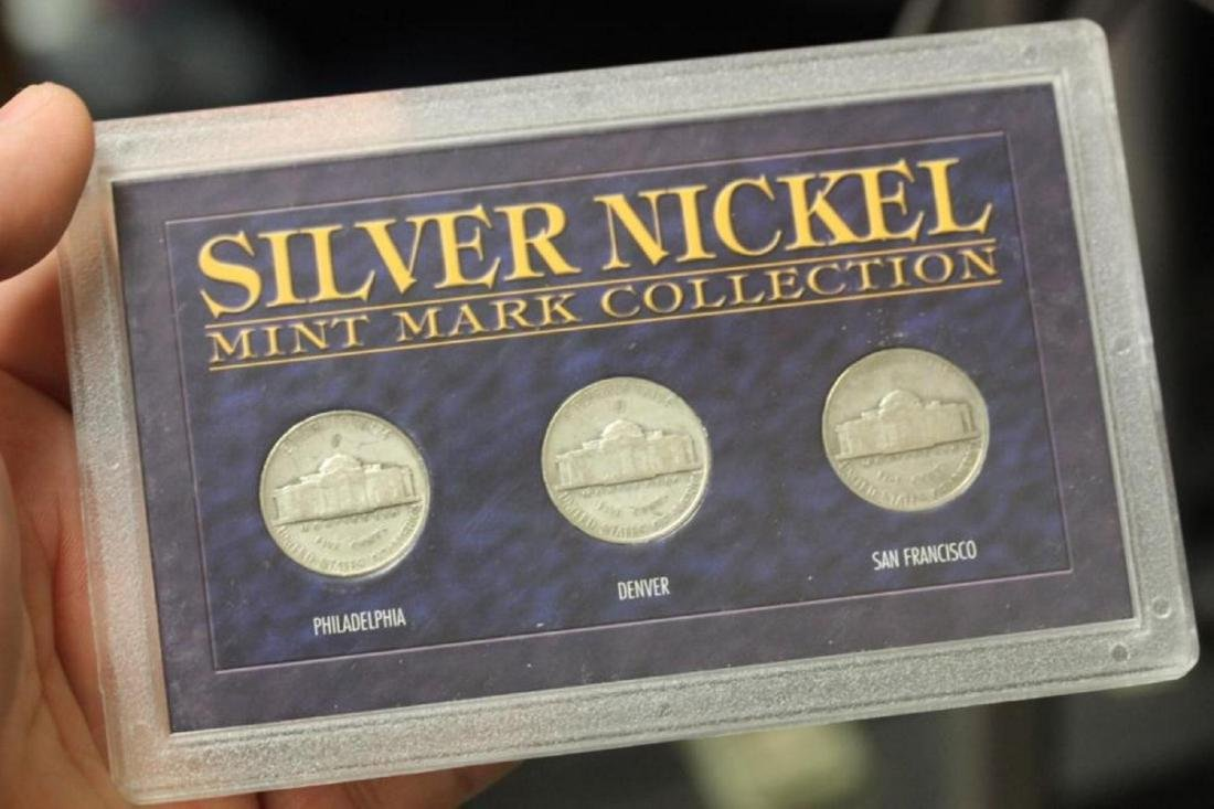 Silver Nickel Mint Mark Collection