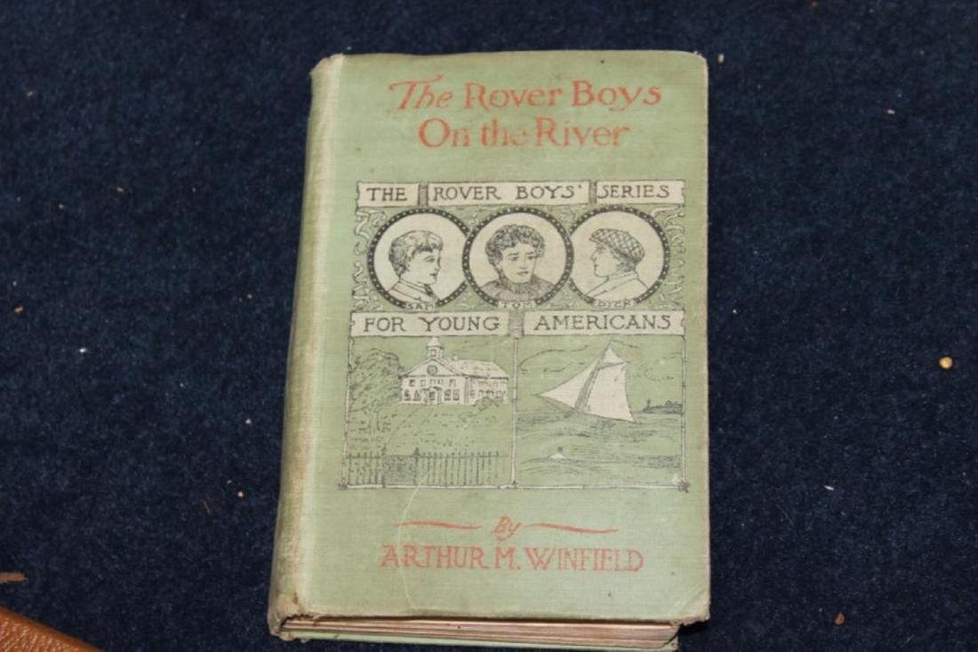 Book - The Rover Boys On The River by Arthur Winfield