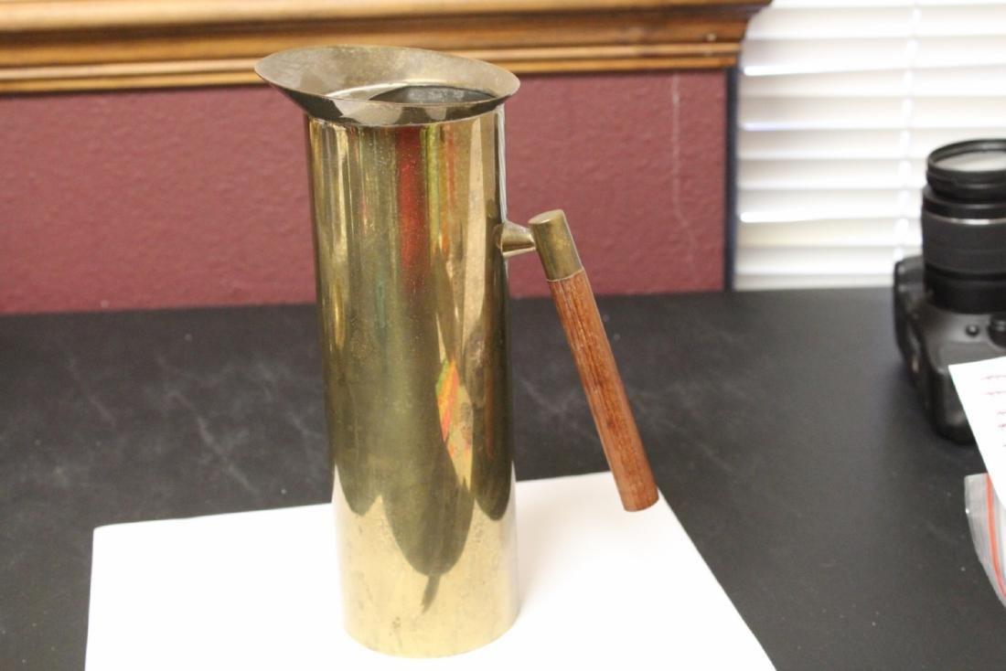 AN Italy Brass Coffee Pot?