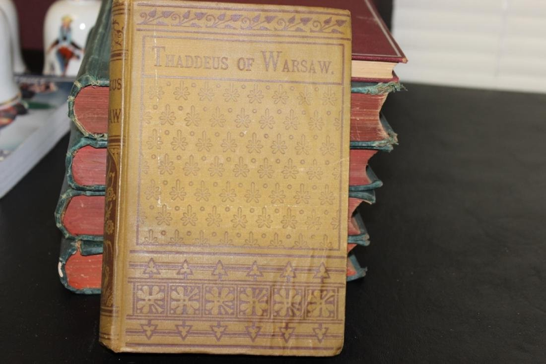 Book - Thaddeus of Warsaw - Published 1883