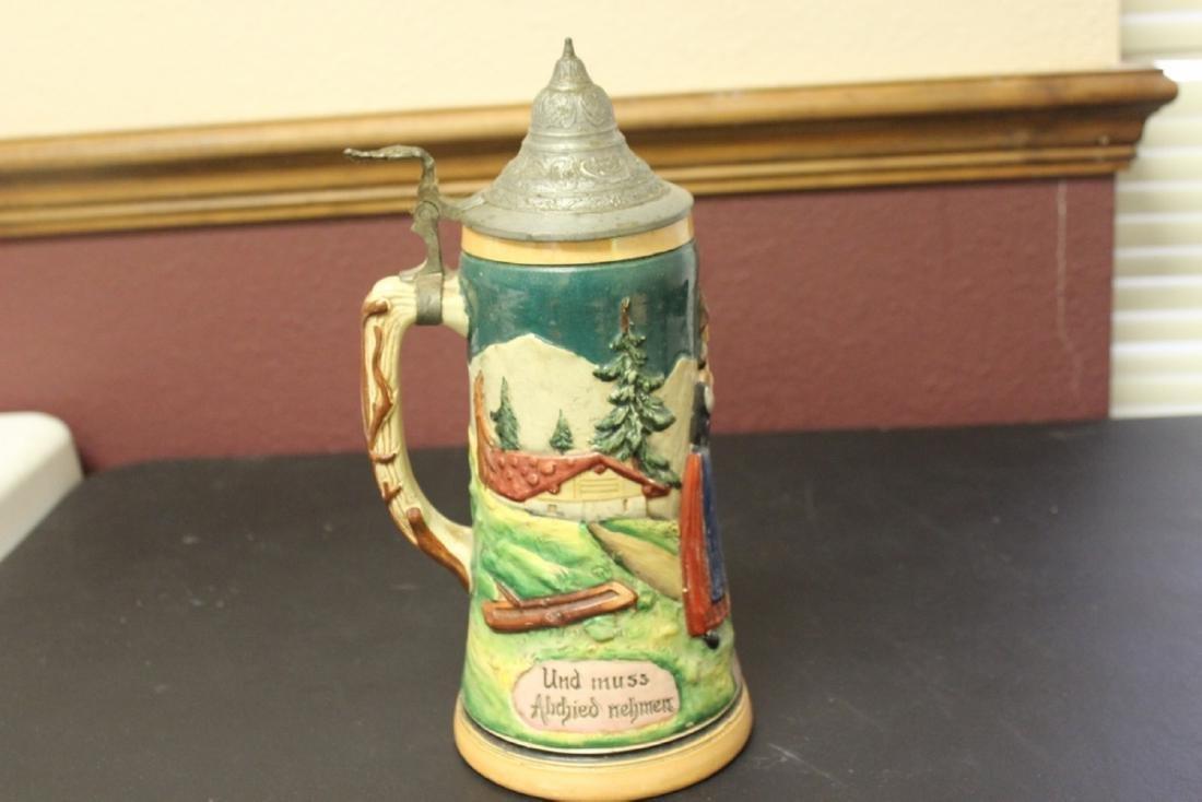 A One Liter German Stein Antique/Vintage
