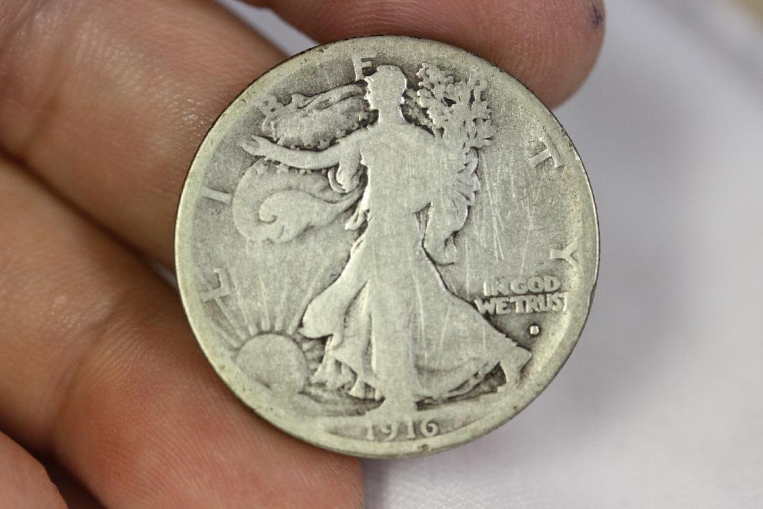 A Key Date 1916-S Walking Liberty Half Dollar