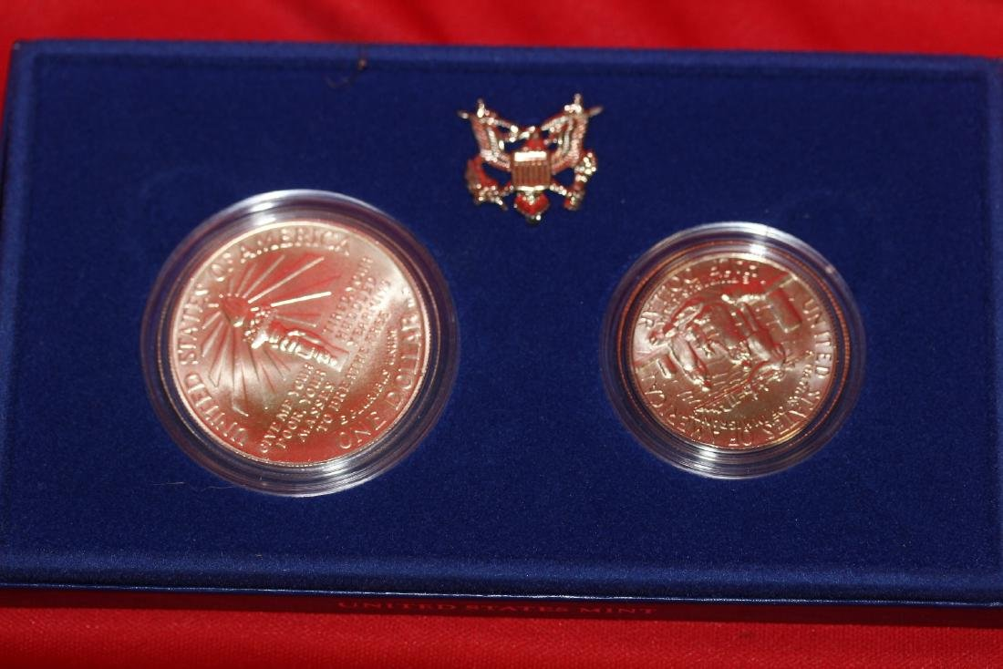 Lot of Two Coins Set