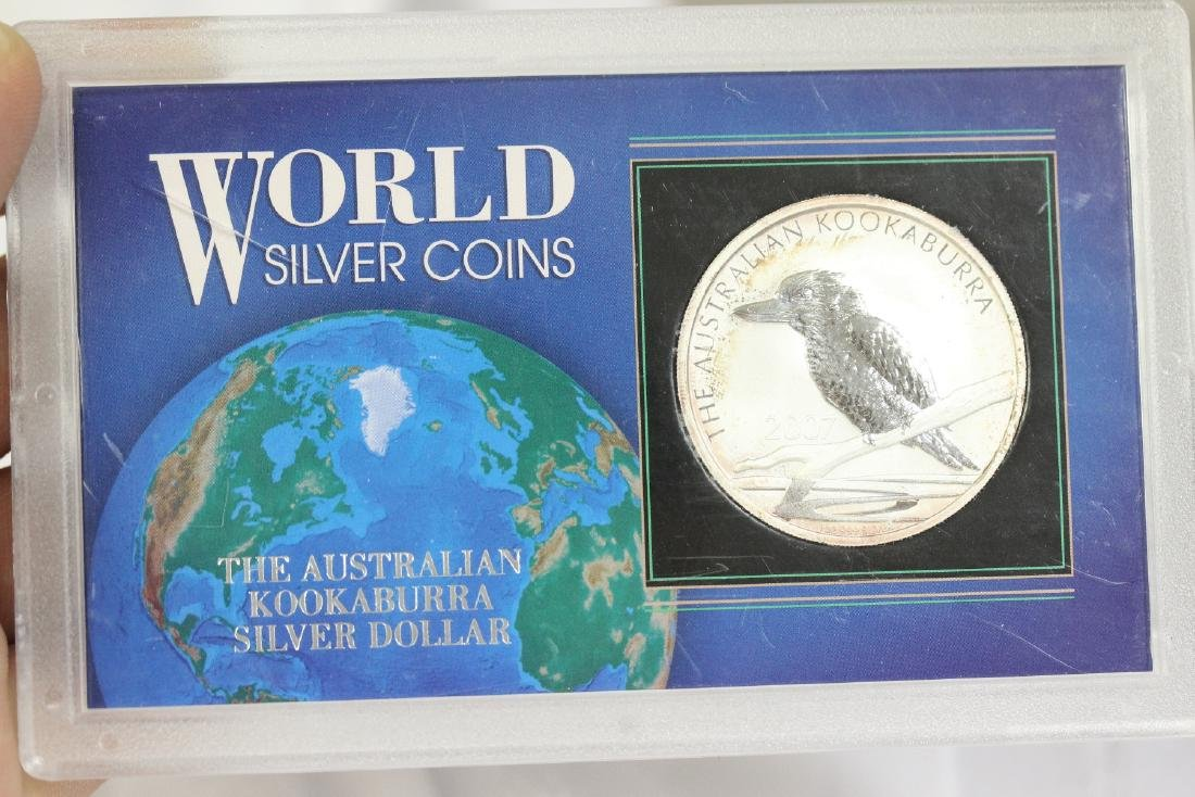 World Silver Coins 2007 -
