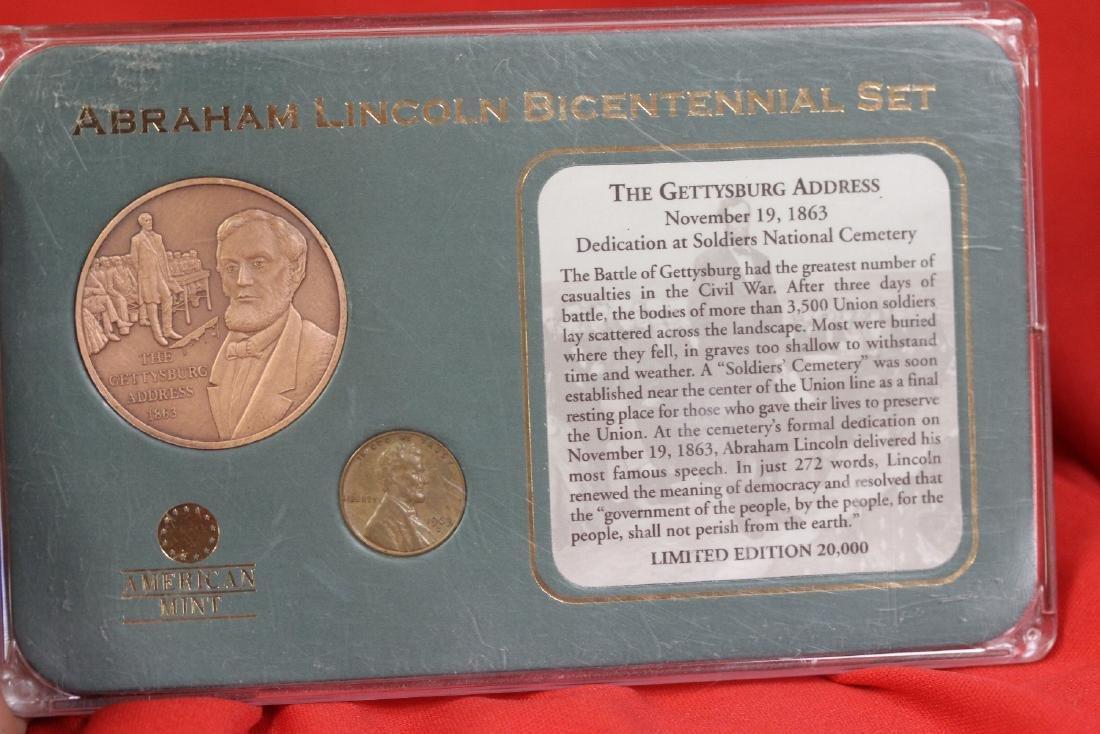 Abraham Lincoln Bicentennial Set