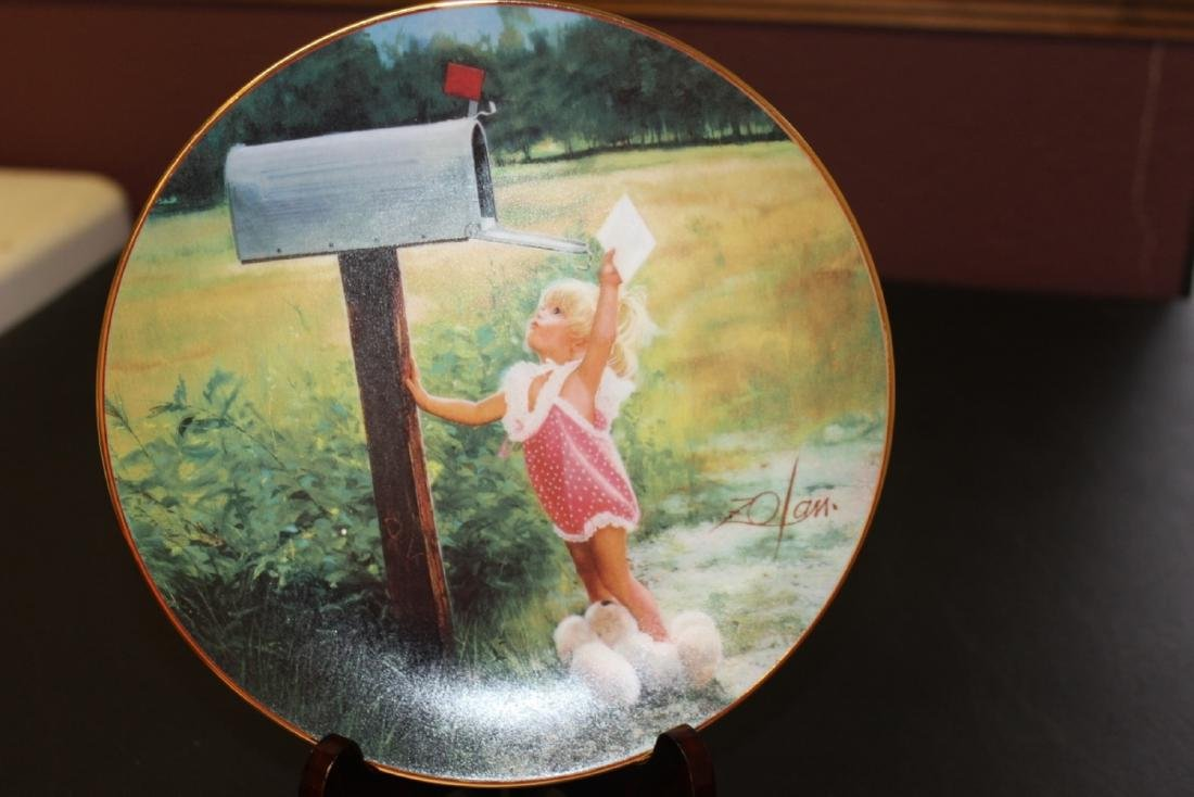 Collectors Plate by Zolan - Boxed with COA