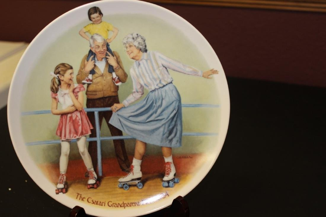 Collectors Plate by Csatari - Boxed with COA