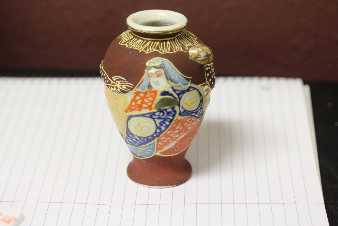 A Vintage Japanese Nippon Dragon Vase