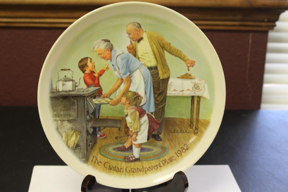 Collector's Plate by Csatari