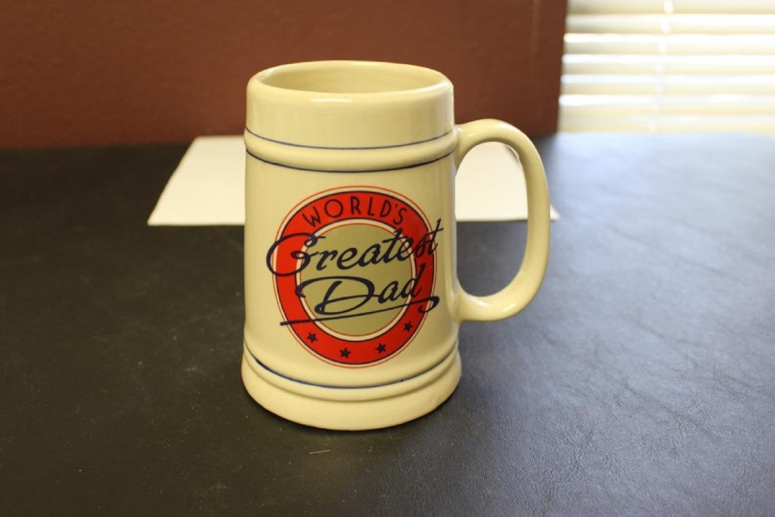 World's Greatest Dad Beer Stein or Mug