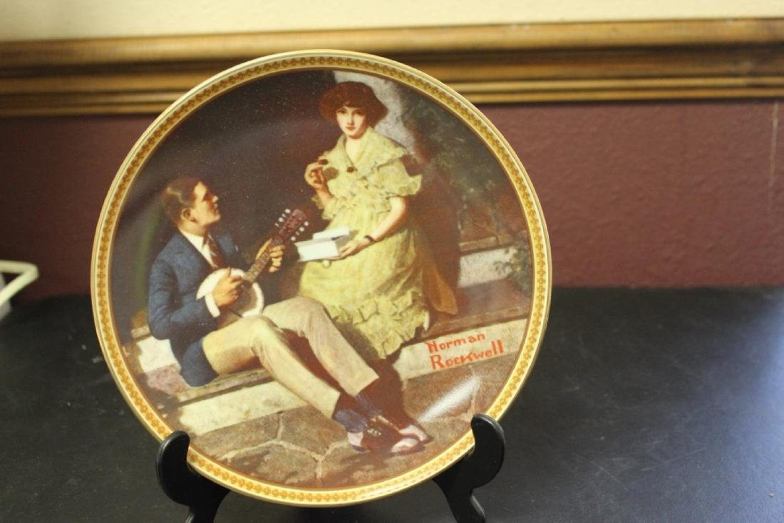 Collector's Plate by Norman Rockwell