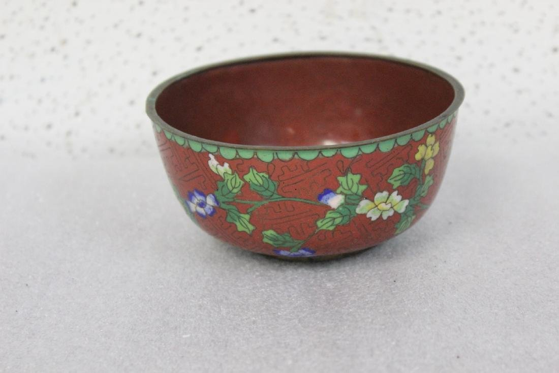 An Antique Chinese Cloisonne Bowl