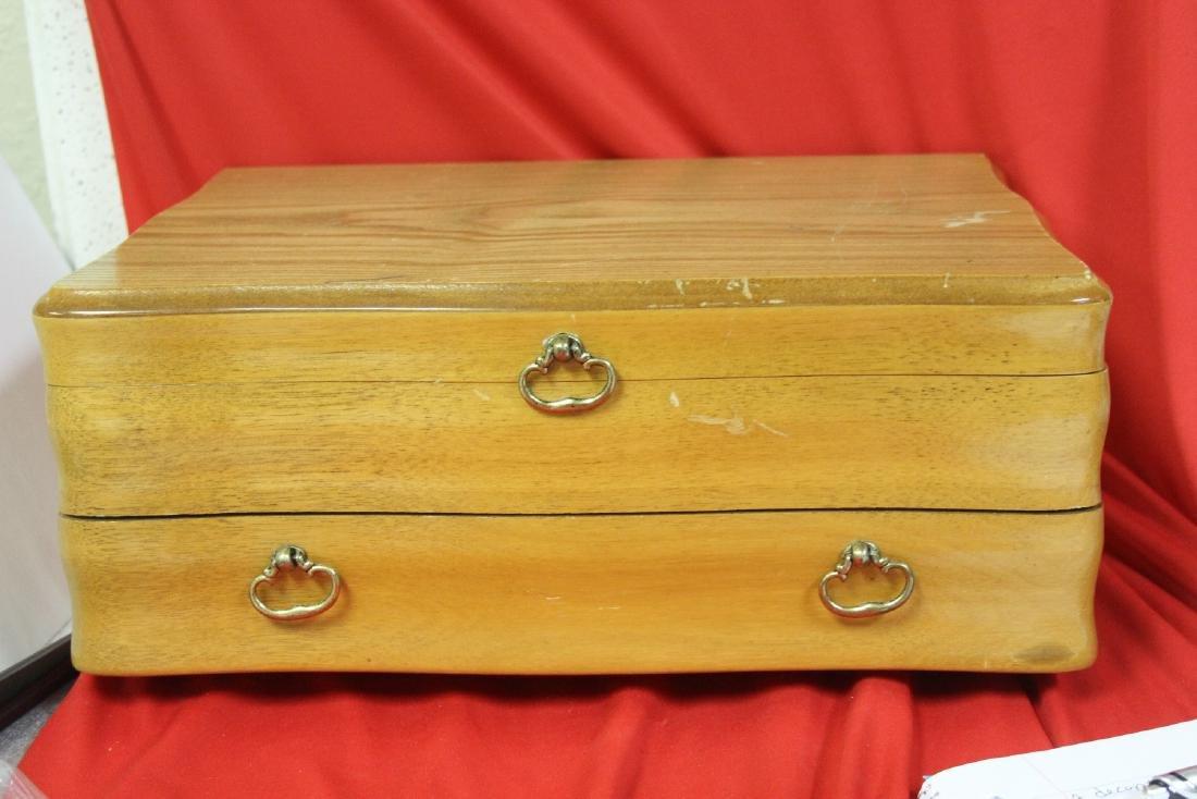 A Utensil Wooden Box