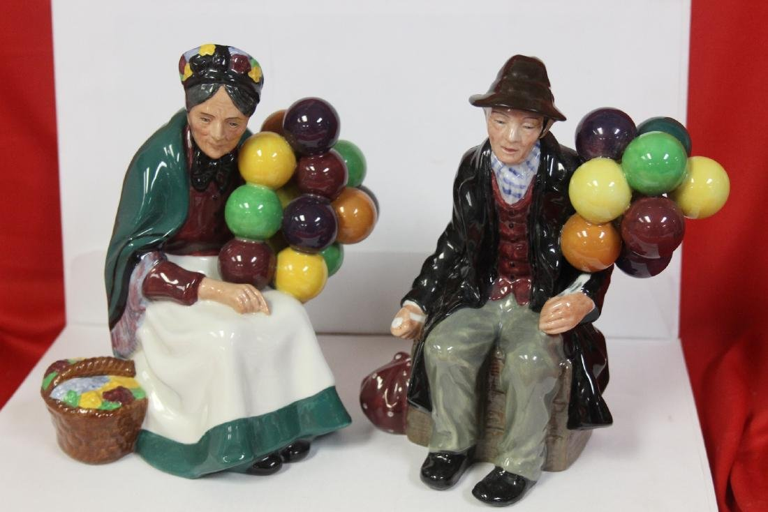 Lot of Two Royal Doulton Figurine