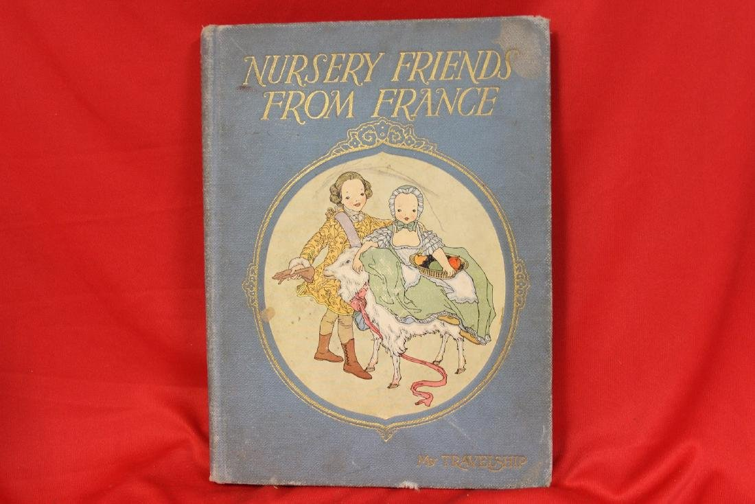 Hardcover Book: Nursery Friends from France