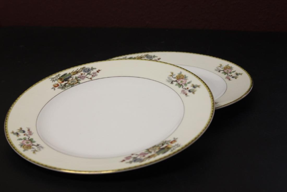 A Lot of Two Noritake Dinner Plates
