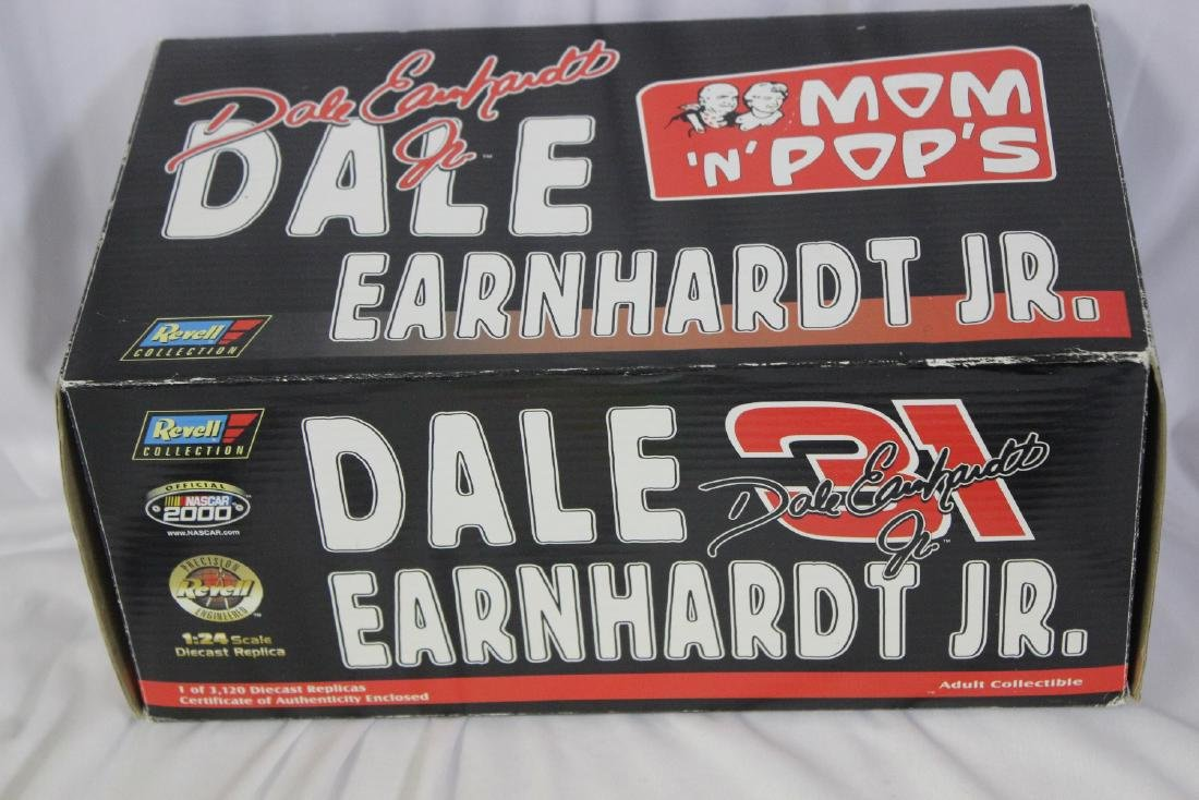A Dale Earnhardt Jr. Racing Car Model
