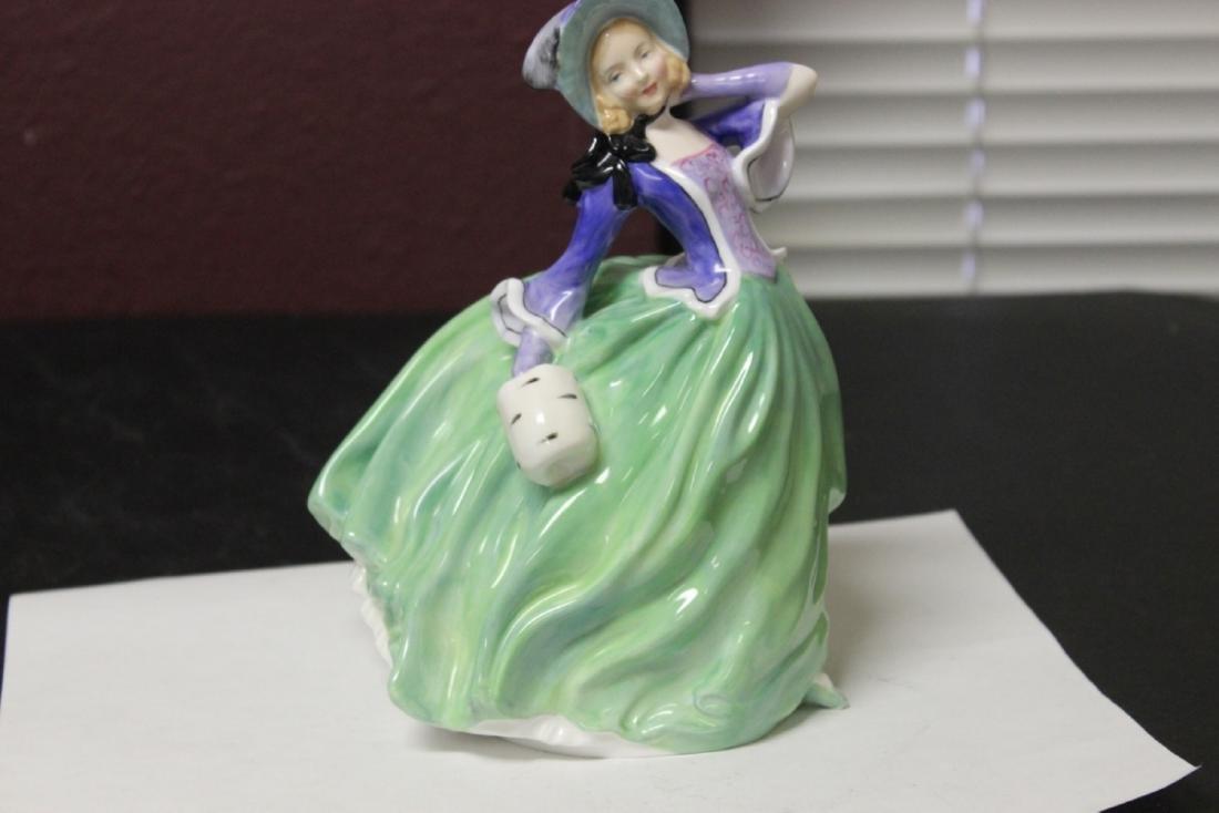 A Royal Doulton Figurine - Autumn Brezzes