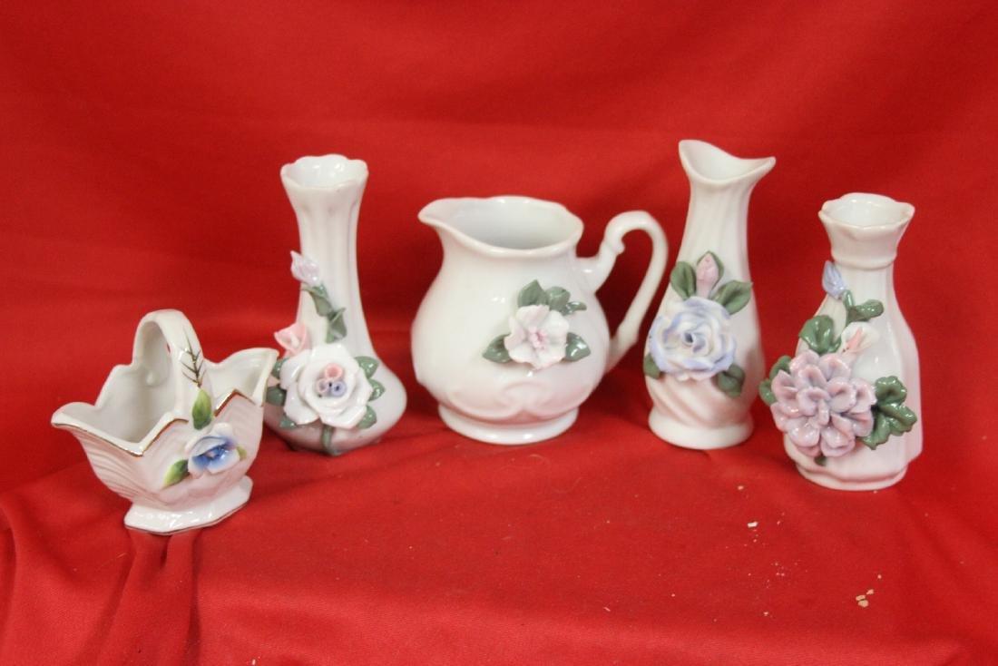 Lot of 5 Ceramic Articles