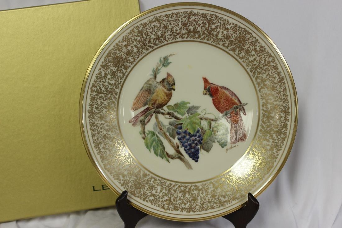 A Lenox Boehm Birds Collector's Plate