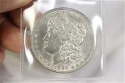 An 1891 CC Morgan Silver Dollar