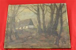 An Antique Oil Painting
