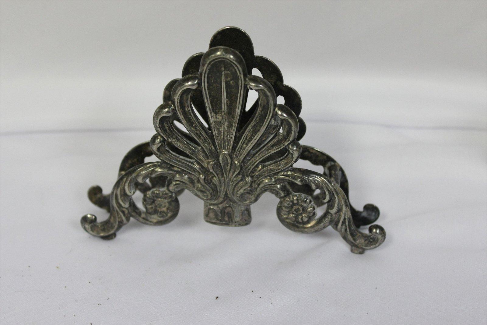 A Vintage Metal Napkin Holder