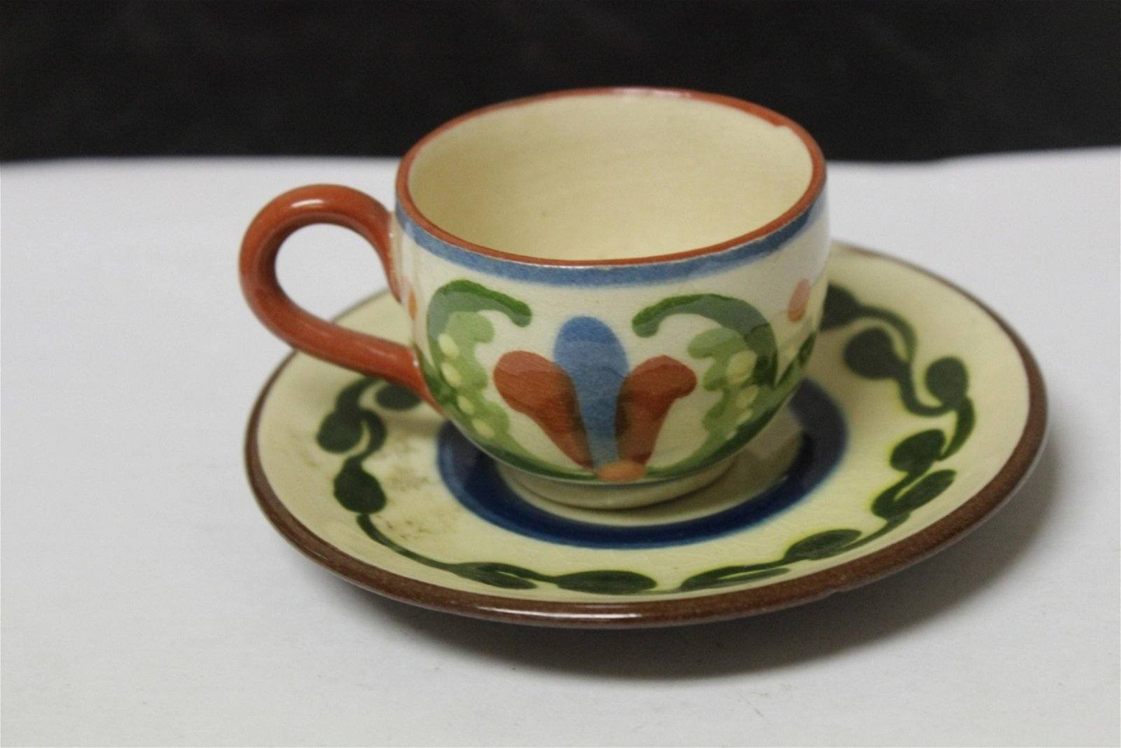 A Vintage Royal Torguay Ceramic Cup and Saucer