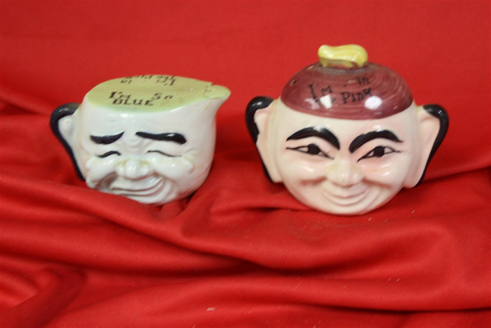 Set of Two Salt and Pepper Shakers