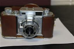 A Vintage Ricoh 35 Camera with Hoster