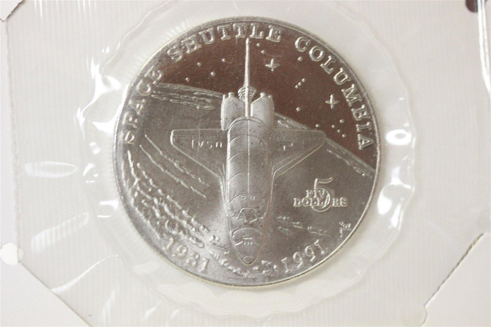 Marshall Island $5.00 Commemorative Coin
