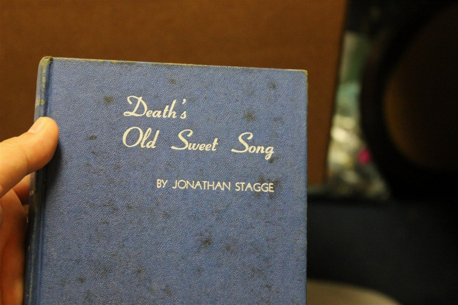 Death's Old Sweet Song by Jonathan Stagg