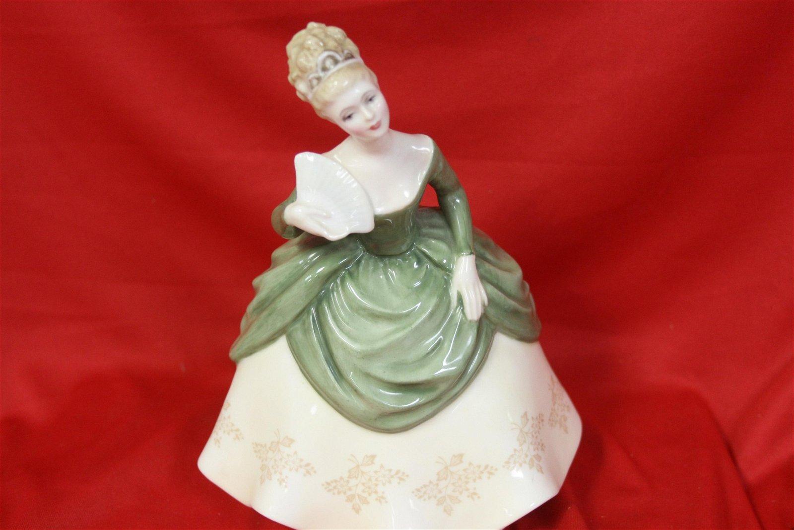 "A Royal Doulton Figurine - ""Soiree"""