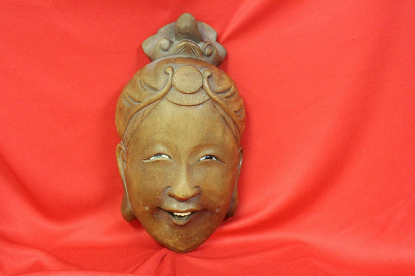 A Well Carved Wooden Mask