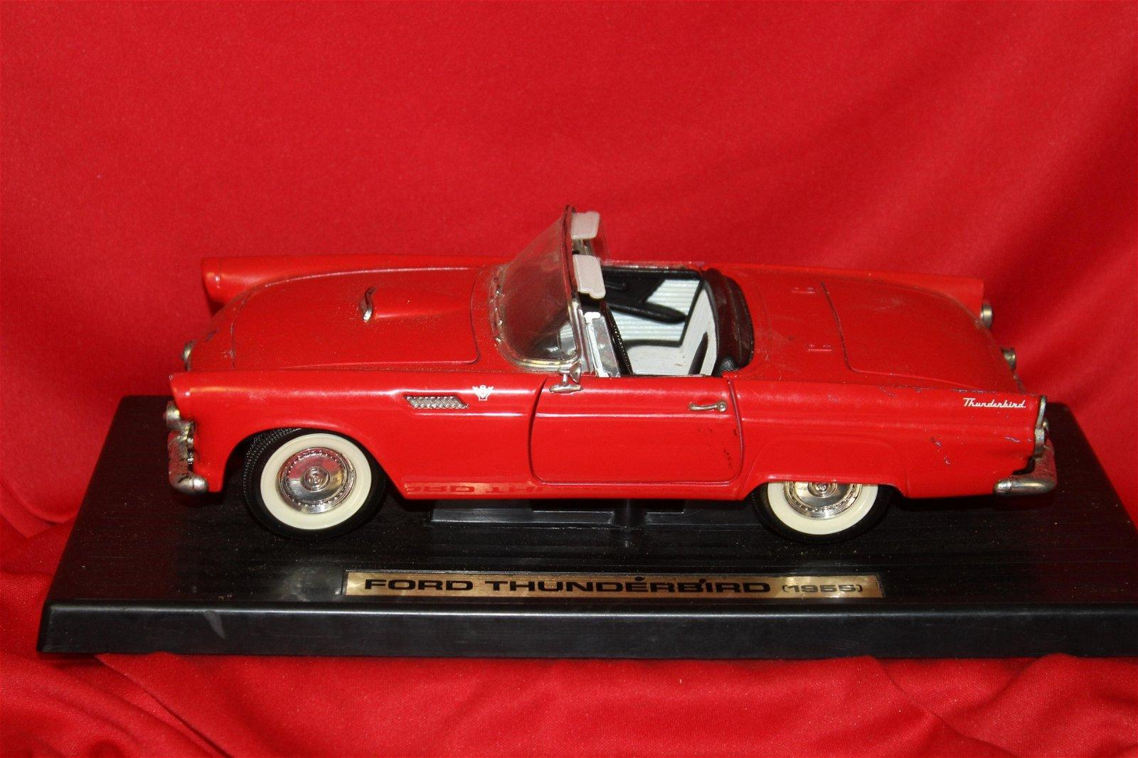 Diecast Ford Thunderbird