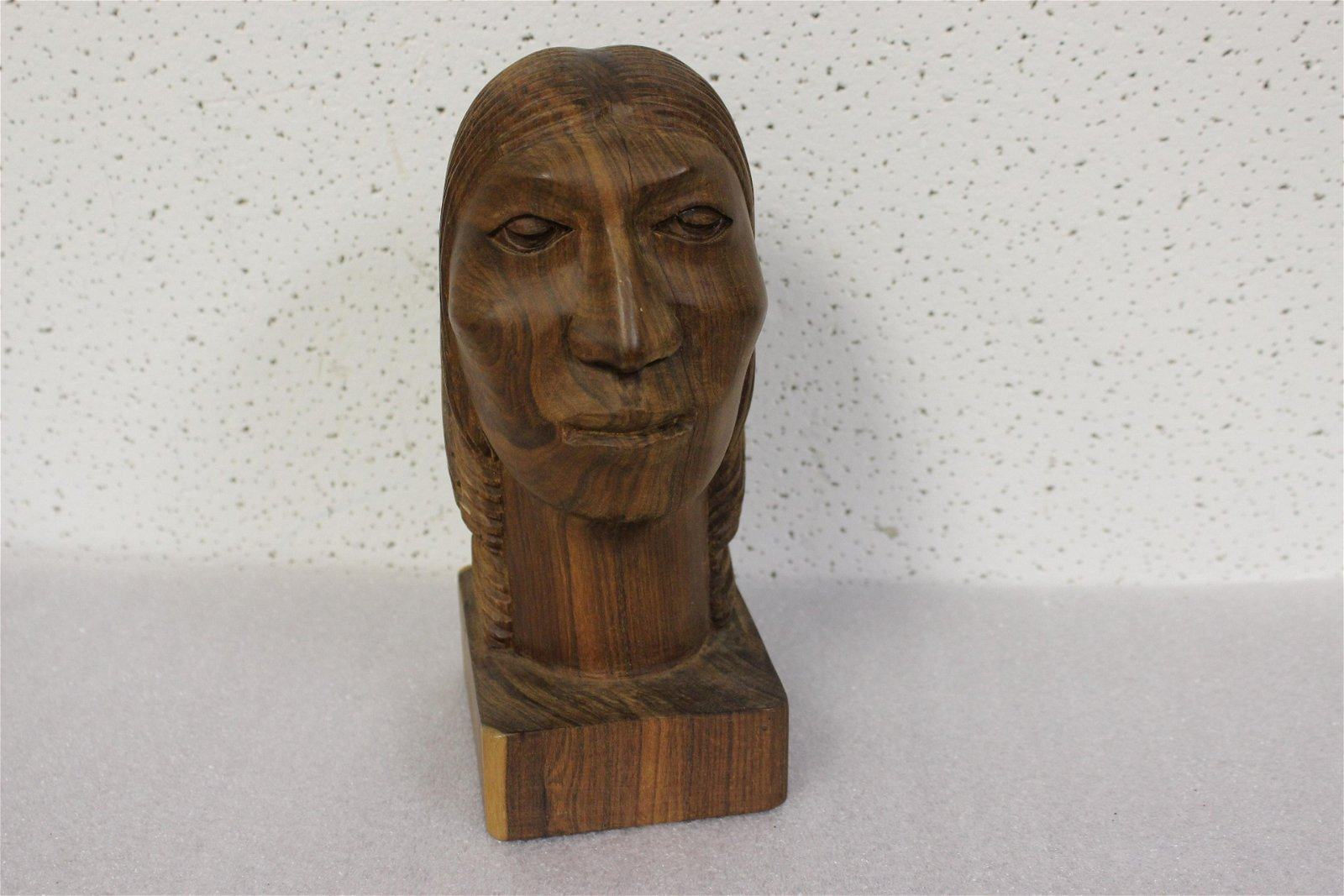 An Exotic Solid Wood  Sculpture