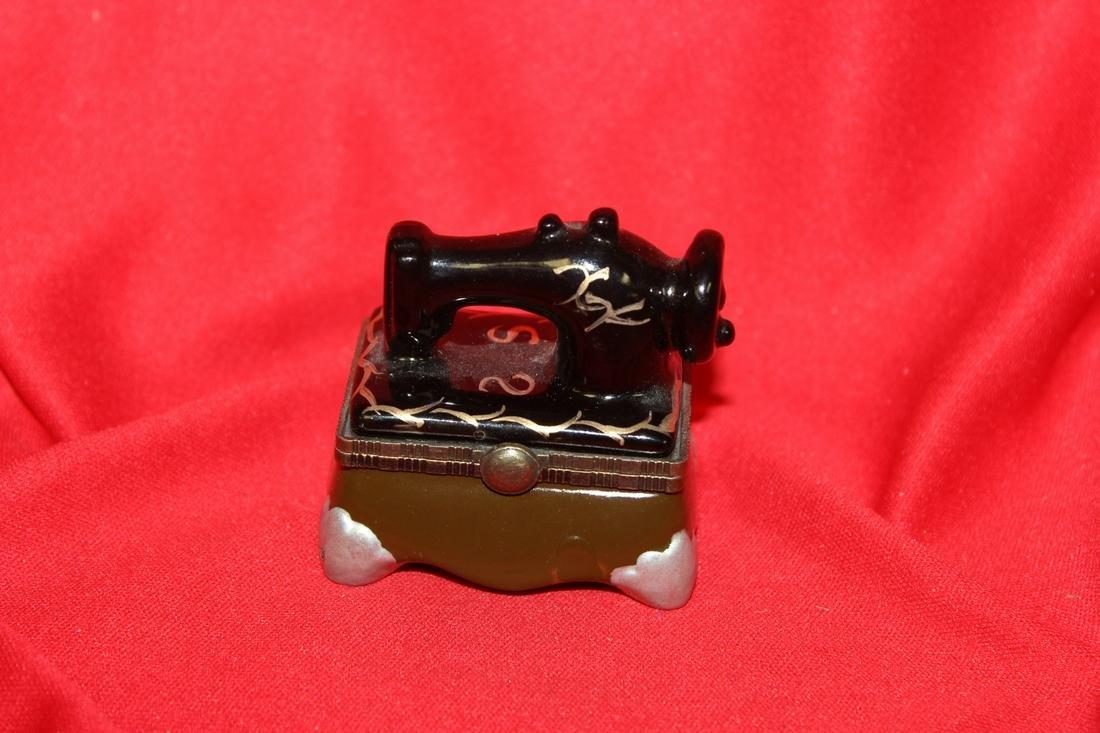 A Sewing Machine Trinket Box