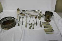 Lot of 25 Silverplated Miscellanious Items