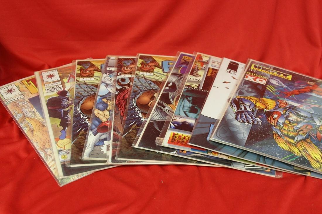 Lot of 10 Comic Books