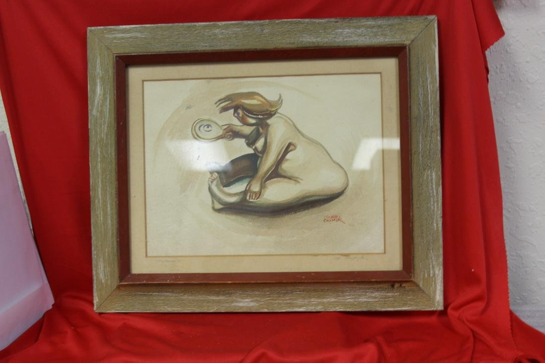 A Watercolour by Listed Artist Michael Chomyk