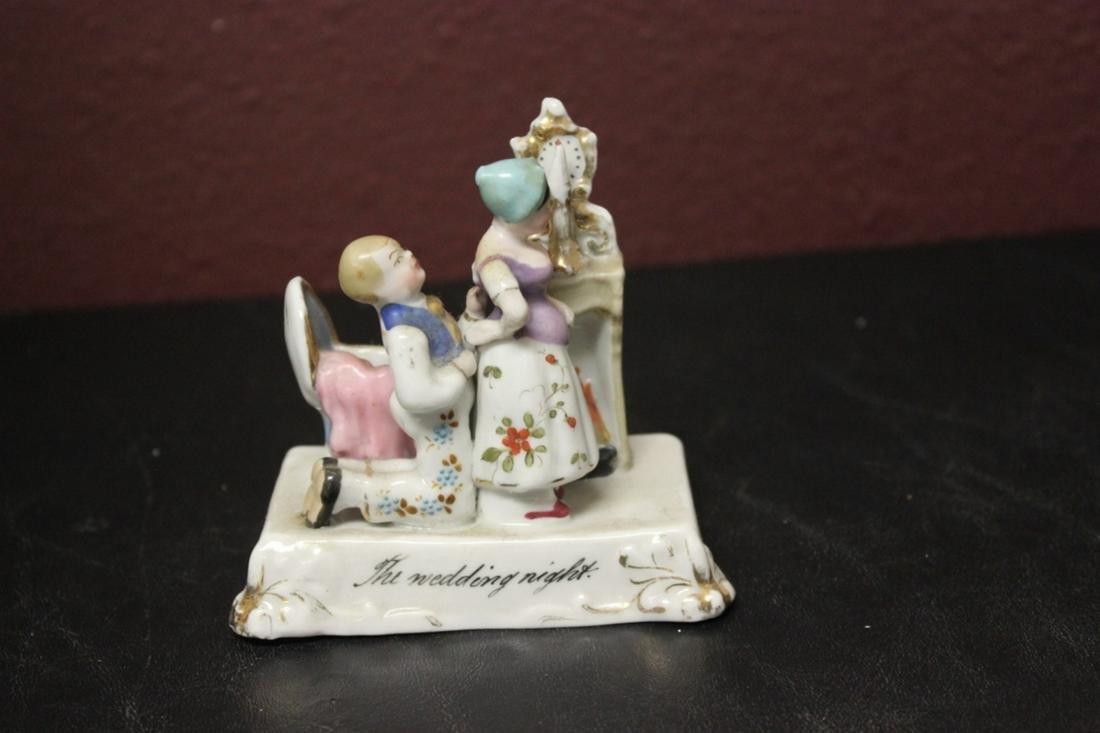A German Porcelain Figurine